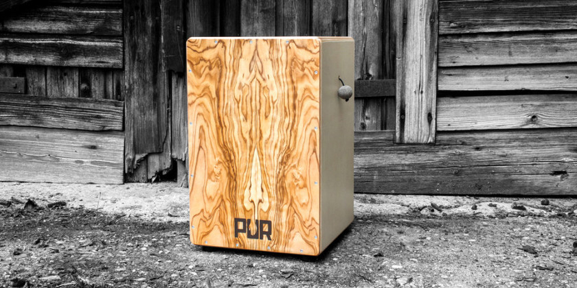 PUR Cajon Manufaktur makes wood sing at Djoliba's