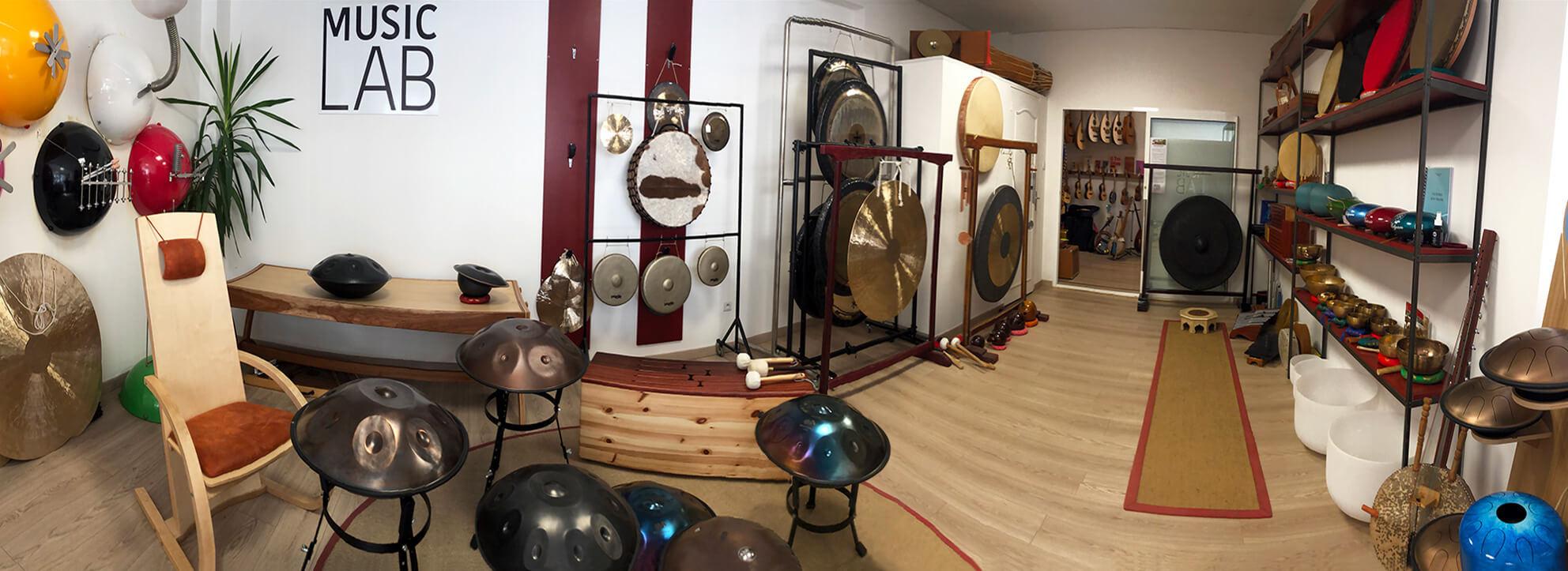 instruments du Music Lab Djoliba
